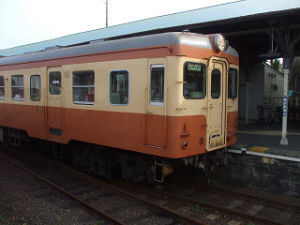 那珂湊のキハ205
