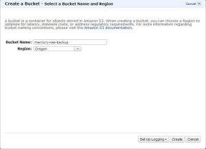 S3 Create Bucket