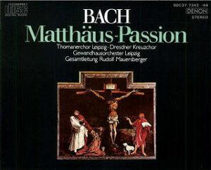 J.S.Bach マタイ受難曲
