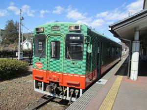 真岡鉄道茂木駅