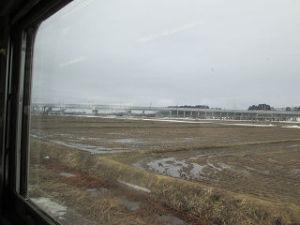 車窓からの北海道新幹線
