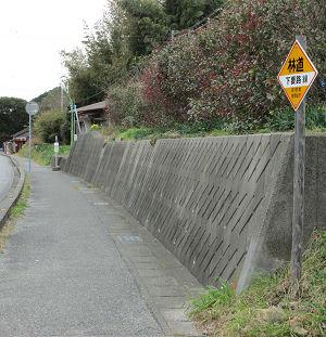 林道 下要路線への入口