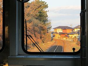 ひたちなか海浜鉄道の車窓