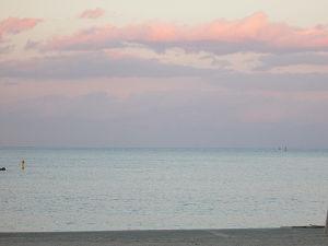 阿字ヶ浦の浜