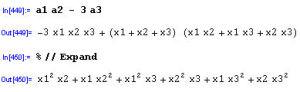 基本対称式による表現