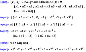 PolynomialReduce