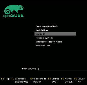 openSUSE Upgrade