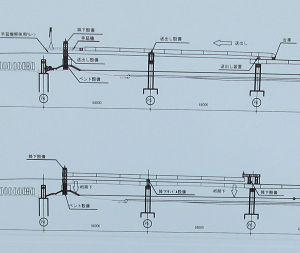 工事説明図ステップ2と3