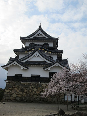 彦根城の石垣