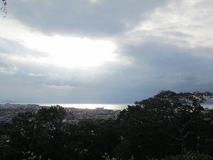 彦根城からの琵琶湖