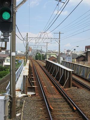 堀切菖蒲園駅急な登り