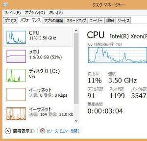 VisualStudio 2013 メモリ