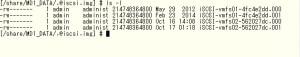 QNAP iSCSI LUN files