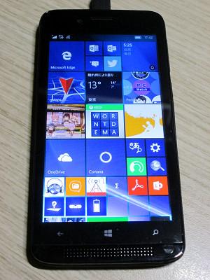 Windows10 mobile アイコンの絵が消える