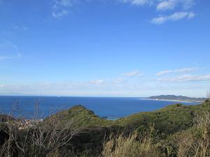 大島展望台から洲崎方面