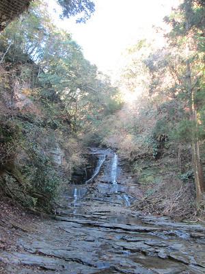 途中の小滝