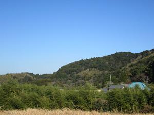 県道177沿いの景色