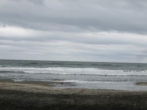 東浪見の海岸