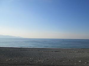 東田子の浦から太平洋