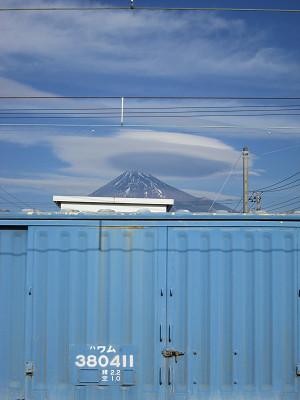 ワムと富士山