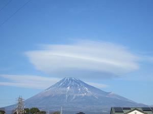 岳南原田からの富士山