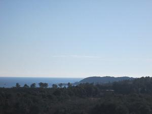 みはらしの丘から太平洋