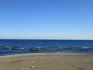 大洗公園から太平洋