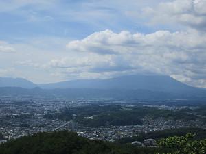 岩山展望台から岩手山