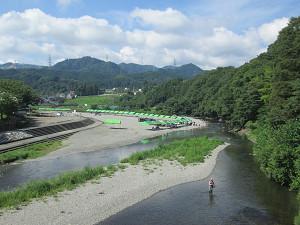 秋川河川敷