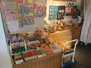 駄菓子屋ゾーン
