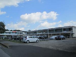 UR団地内のショッピングセンター