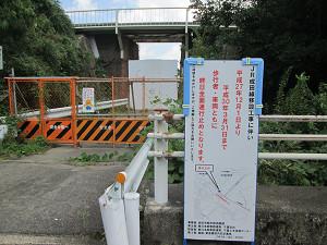 JR成田線工事