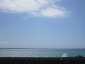 晴天の太平洋