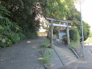 草薙神社鳥居