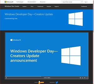 Windows Developer Day - Creators Update