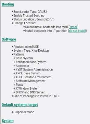 Xfceデスクトップの選択