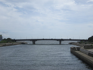 花見川河口