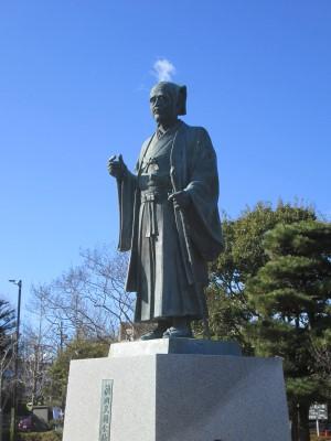 光圀公の像
