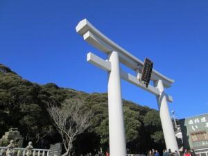大洗磯前神社階段下