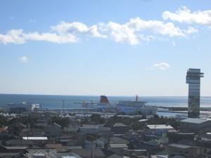海防陣屋からの眺め