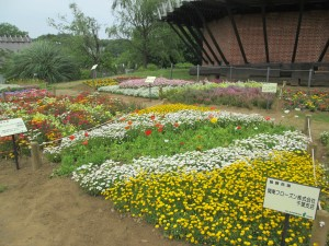 スポンサーの花壇