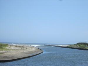 栗山川河口