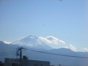 中央線からの富士山