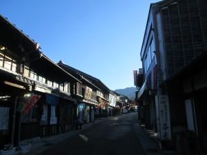 岩村の街並み