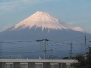 吉原から富士山