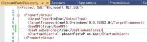 WindowsForms APIの利用