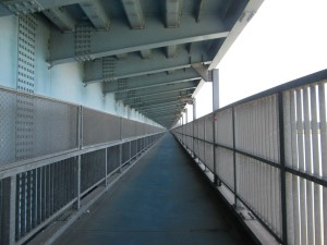 利根川橋歩道
